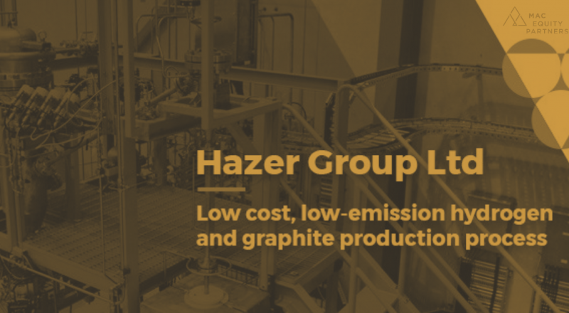 HAZER $HZR EXECUTES BINDING GAS SUPPLY AGREEMENT WITH WATER CORPORATION